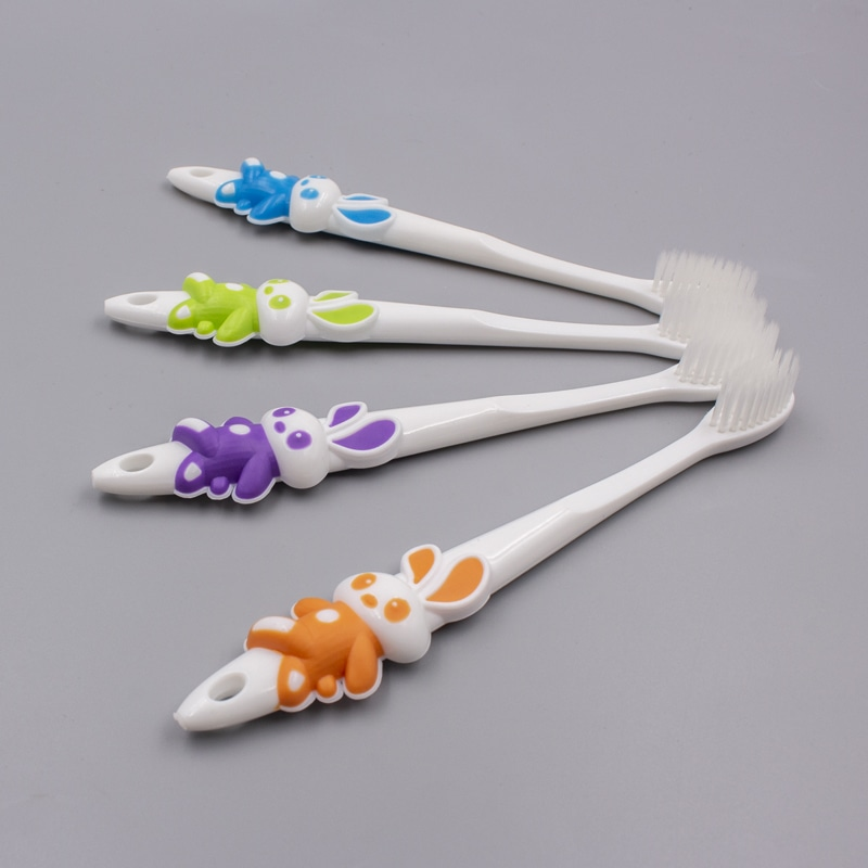 Rabbit Shape Kids Toothbrush