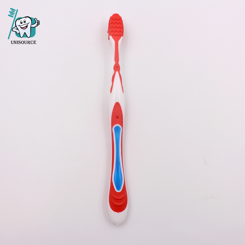 Adult Toothbrush with Rubber tip massagers