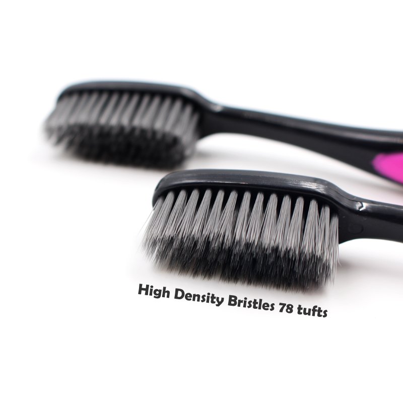 High Density Charcoal Toothbrush