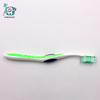 Compact Adult Toothbrush - Rubber tip massagers on head