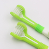 Triple Head Toothbrush