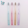 Transparent Handle Adult Toothbrush