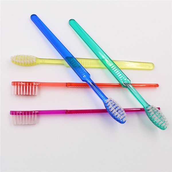 Round Head Pre-pasted Toothbrush