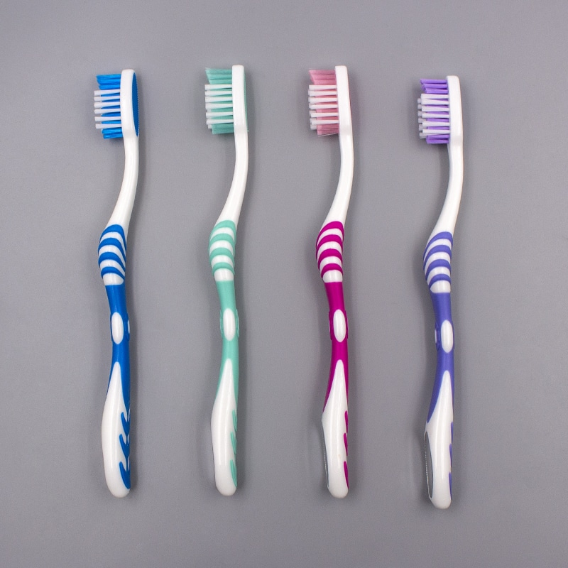 Orthodontic Adult Toothbrush with Mirror