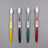 V-shape rubber Adult Toothbrush